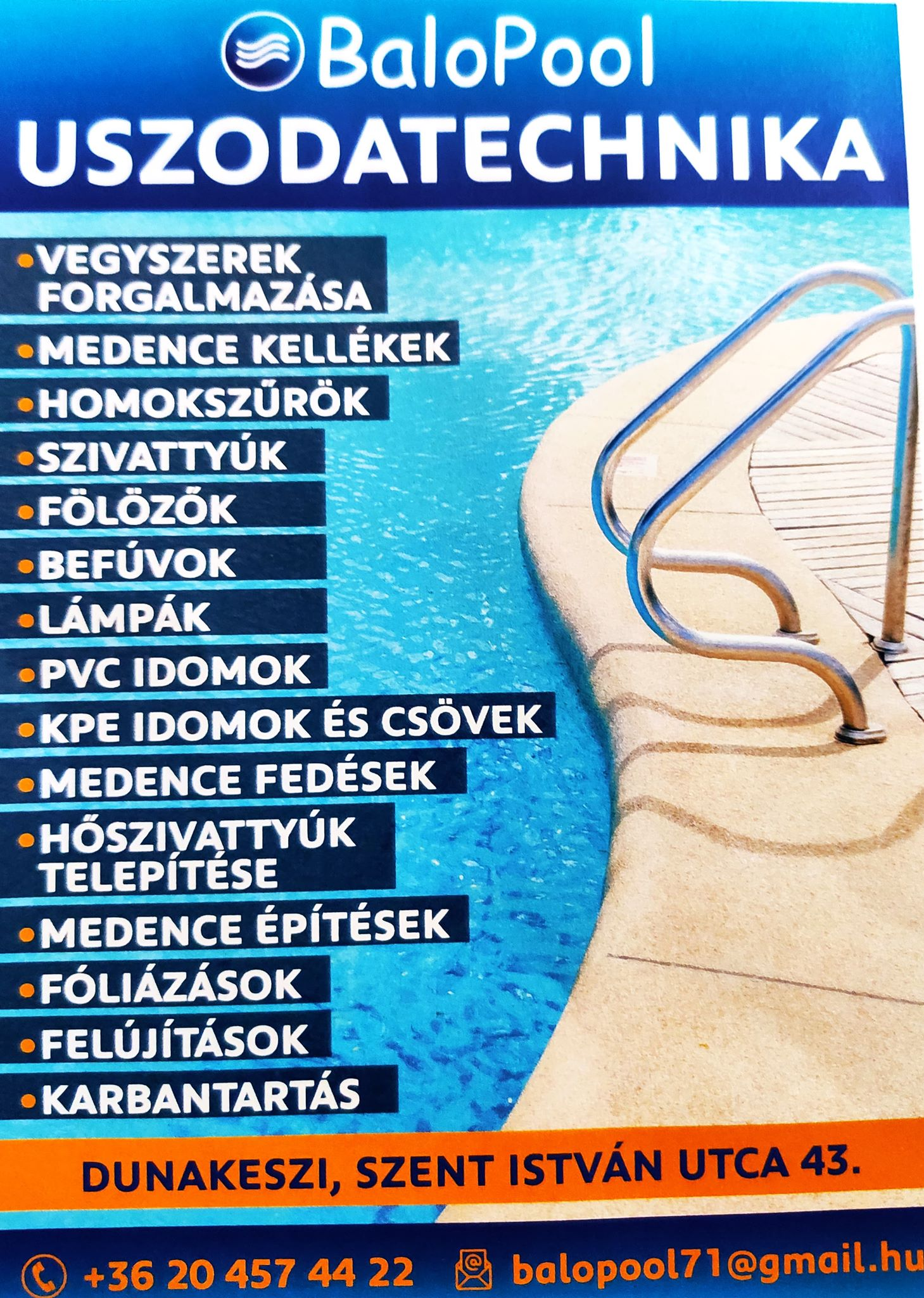 Medence és Uszodatechnika