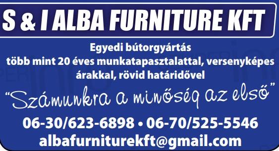 Egyedi bútorgyártás Székesfehérvár