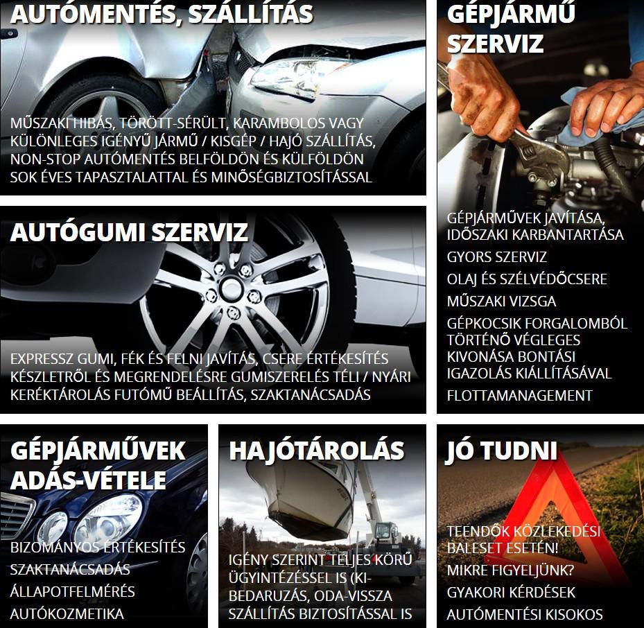 Bíró Autómentő, Gyorsszerviz, Gumiszerelés - T&K CAR Kft.