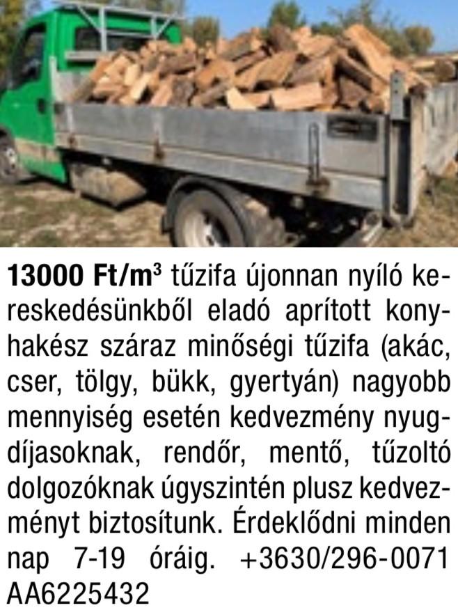 Tűzifa kereskedés, Tűzifa kiszállítás Egész évben - SHREK TŰZIFA SIÓFOK