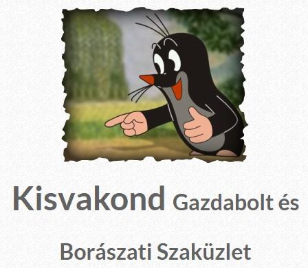 Kisvakond Gazdabolt és Borászati Szaküzlet Gazdabolt - Mór