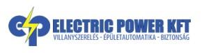 Biztonságtechnikai Rendszerek Kivitelezése - ELECTRIC POWER KFT.
