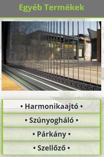 Árnyékolástechnika Debrecen-Nyíregyháza-Tiszaújváros-Miskolc