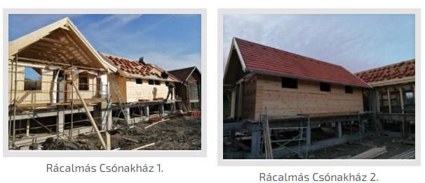 Családi házak építése, Ácsmunkák