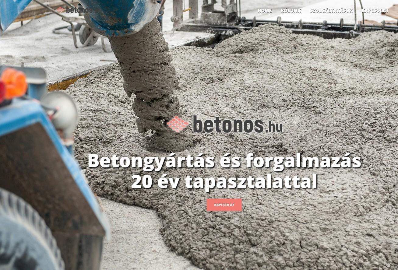 Betongyártás, Beton szállítás Székesfehérvár