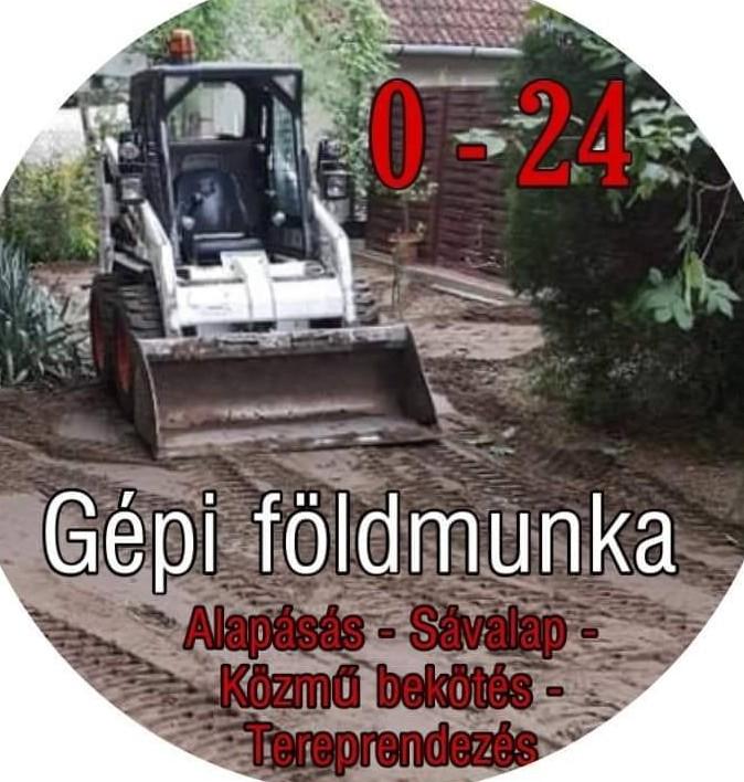 Gépi földmunka, Alapásás, Tereprendezés - ZsoZso Gép