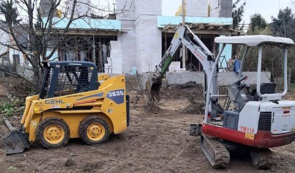 Gépi földmunka, Tereprendezés, Térkövezés Budapest és környéke