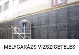Mélygarázs vízszigetelés - DOMINIK BAU Kft.