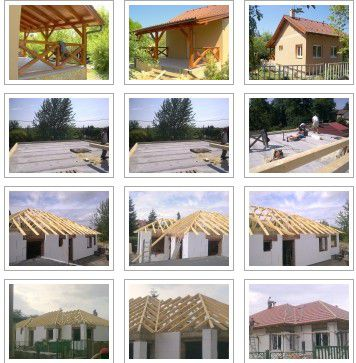 Tetőszerkesztek építése, Ácsmunkák - VIDA-TETŐ Bt.